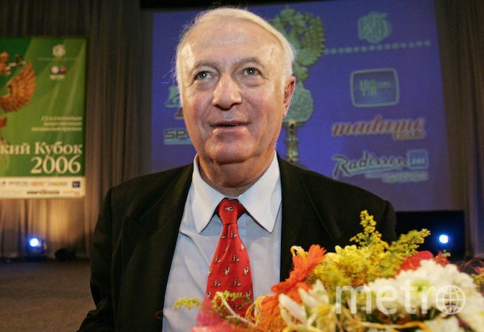 Телеведущий Борис Ноткин, фортоархив. Фото Wikipedia