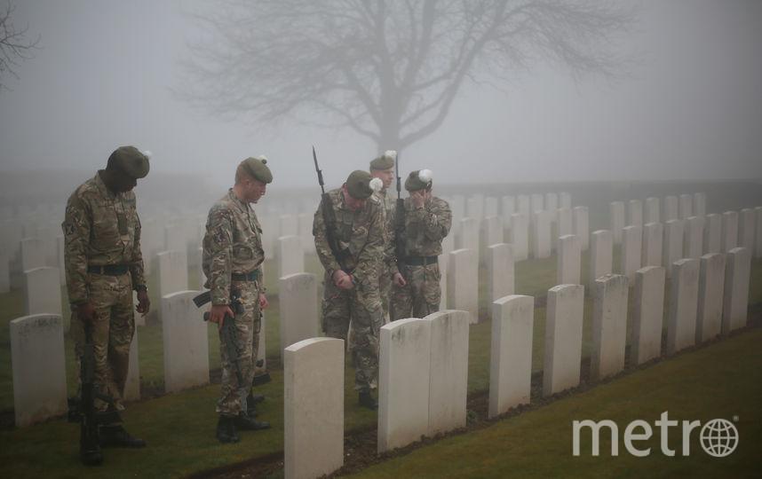 Годовщину окончания Первой мировой войны отмечают двумя минутами тишины во многих странах. Фото Getty