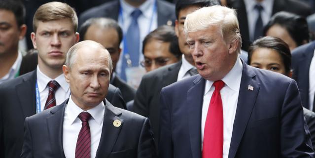 Владимир Путин и Дональд Трамп встретились на полях саммита стран Азиатско-Тихоокеанского экономического сотрудничества.