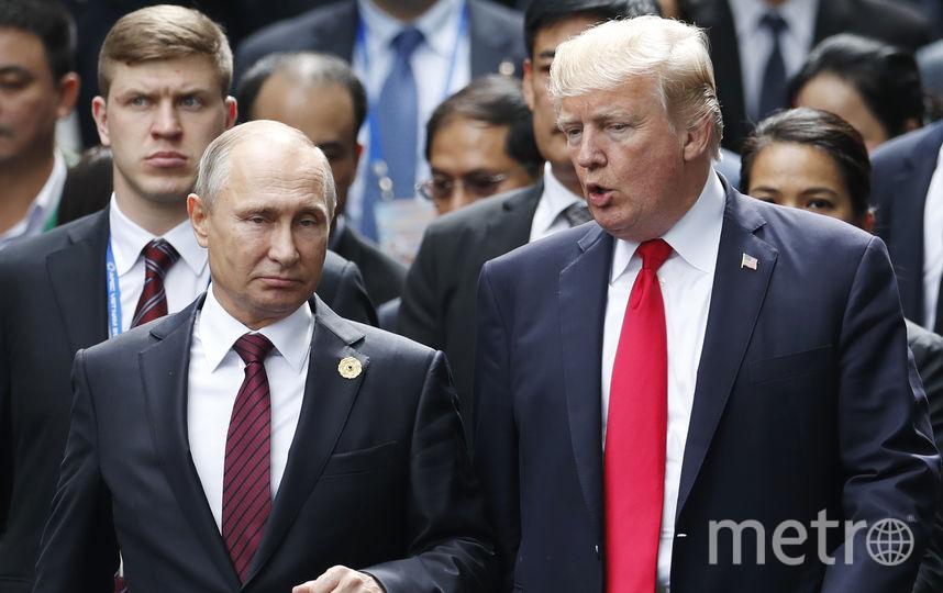 Владимир Путин и Дональд Трамп встретились на полях саммита стран Азиатско-Тихоокеанского экономического сотрудничества. Фото AFP