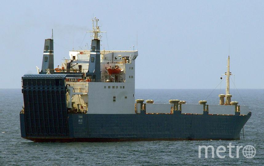 Грузовое судно. Фото Getty