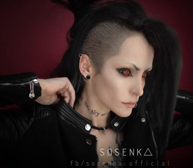 Косплеер Юстина Сосновска, Sosenka.