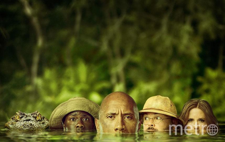 """""""Джуманджи: Зов джунглей"""". Фото Уолт Дисней Студиос Сони Пикчерс Релизинг."""