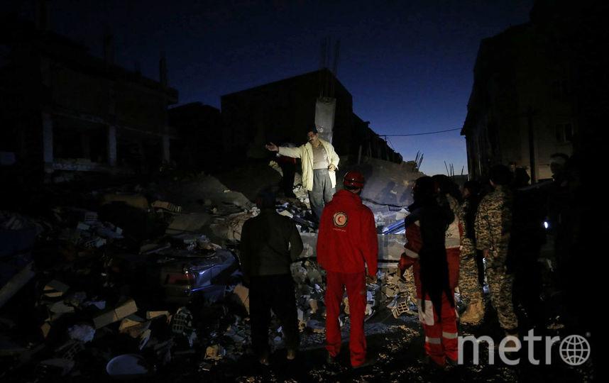 Число жертв землетрясения в Иране увеличилось до 200. Фото AFP