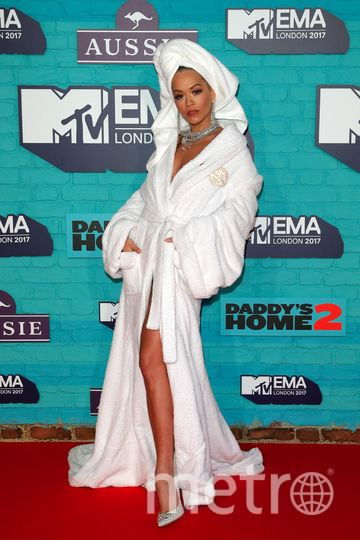 MTV Europe Music Awards. Рита Ора. Фото Getty