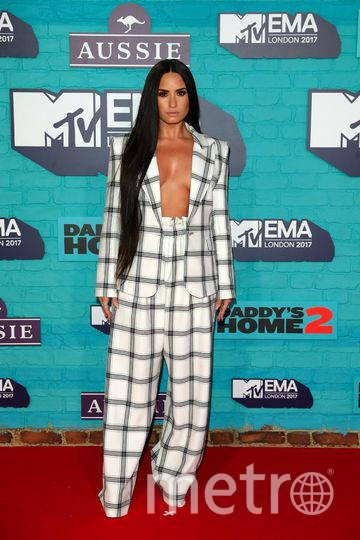 MTV Europe Music Awards. Деми Ловато. Фото Getty