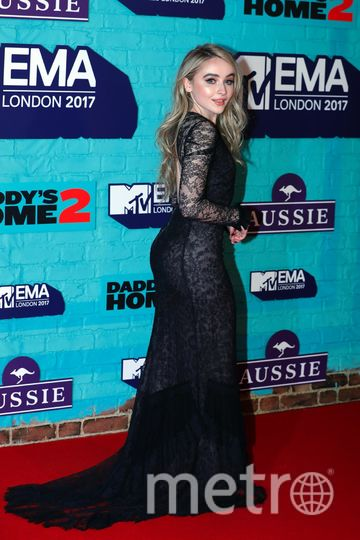 MTV Europe Music Awards. Сабрина Карпентер. Фото Getty