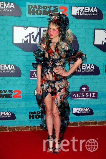 MTV Europe Music Awards. Петитт Меллер. Фото Getty