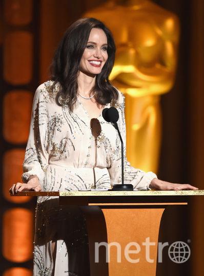Анджелина Джоли на вручении премии Governors Awards в Голливуде. Фото Getty