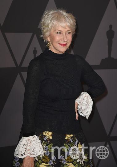 Governors Awards в Голливуде. Хелен Миррен. Фото Getty