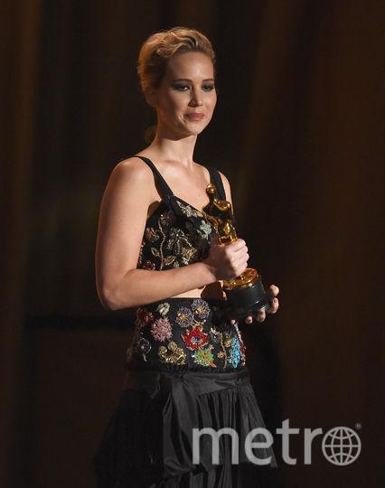 Governors Awards в Голливуде. Дженнифер Лоуренс. Фото Getty