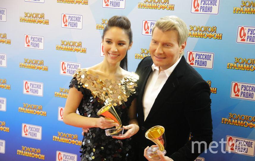 Алина Август и Николай Басков. Фото Олег Андреев