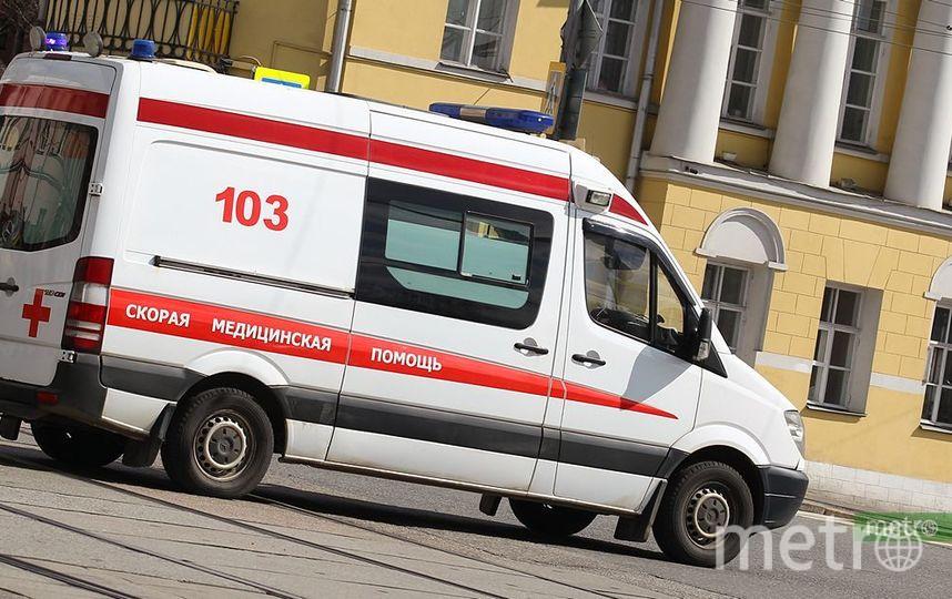 "Пациент с ножом напал на врача ""скорой"" на юго-западе Москвы. Фото Василий Кузьмичёнок"