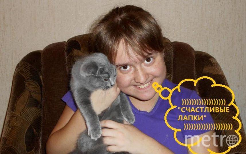 Примите фото моей дочки Валерии Кравченко с любимицей-кошкой Марселькой. Фото Евгений Александрович