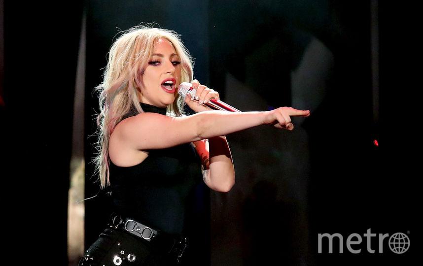 Леди Гага во время концерта. Фото Getty