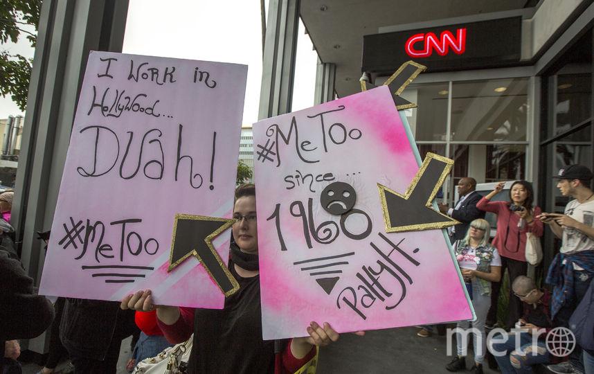 """""""Я тоже"""": В Голливуде прошел митинг против сексуальных домогательств. Фото Getty"""