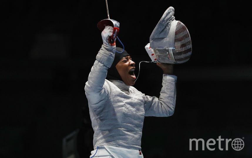 Ибтихадж Мухаммад на Олимпиаде. Фото Getty