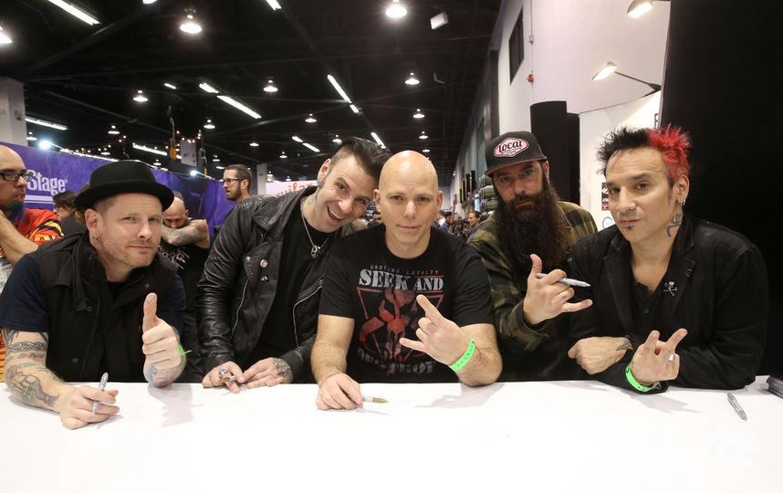 Группа Stone Sour. Фото Getty