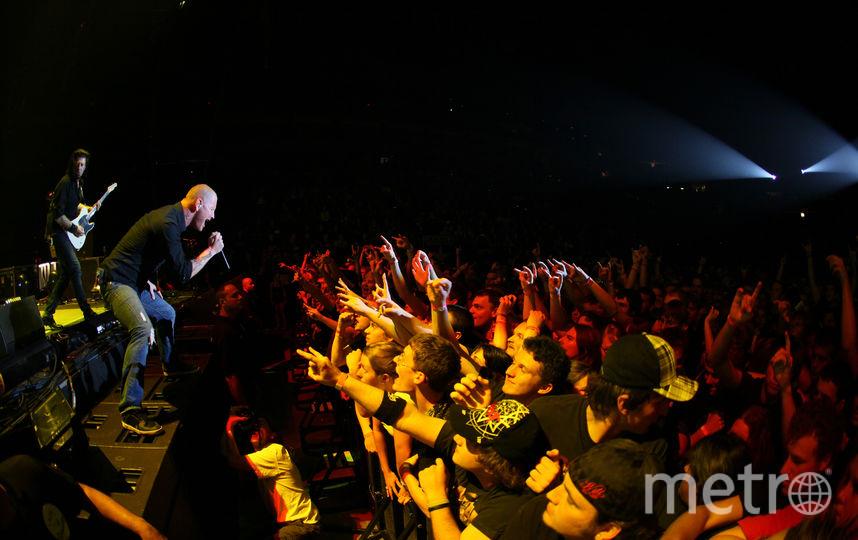Концерт группы Stone Sour. Фото Getty