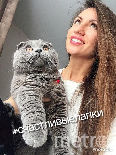 Нина Назарова и кот Ричард.