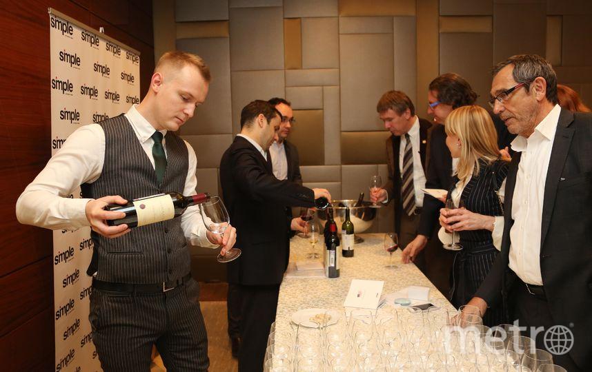Дегустация калифорнийских вин после просмотра фильма. Фото пресс-служба посольства США в РФ