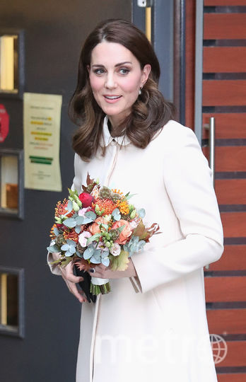 Кейт Миддлтон в детском центре Хорнси-роуд в Лондоне. Фото Getty