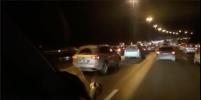 Массовое ДТП на КАД собрало пробку вечером 14 ноября