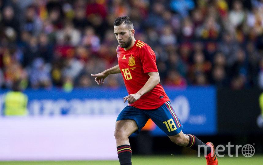 Автор первого гола в составе Испании Жорди Альба. Фото Getty