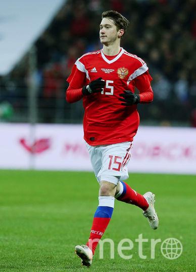 Алексей Миранчук забил мяч в ворота Де Хеа. Фото Getty