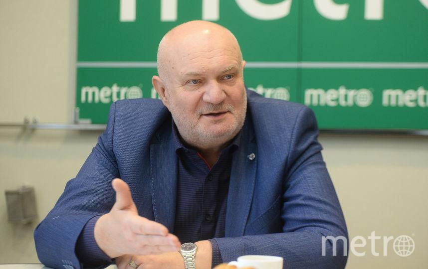 """Владимир Гарюгин считает, что наш метрополитен – не хуже европейского и азиатского. Фото """"Metro"""""""