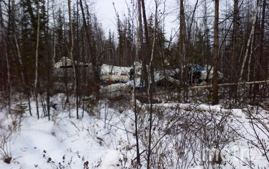 Фото рухнувшего в Хабаровском крае самолёта появились в Сети. Фото РИА Новости