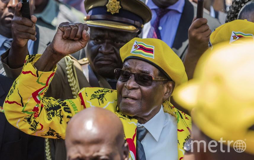 Президент Зимбабве Роберт Мугабе. Фото AFP