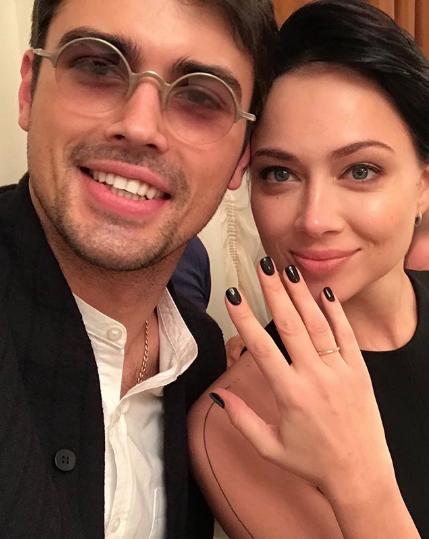 Настасья Самбурская вышла замуж: «невеста вчерном»