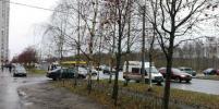 Пассажирский автобус сбил насмерть женщину на остановке в Петербурге