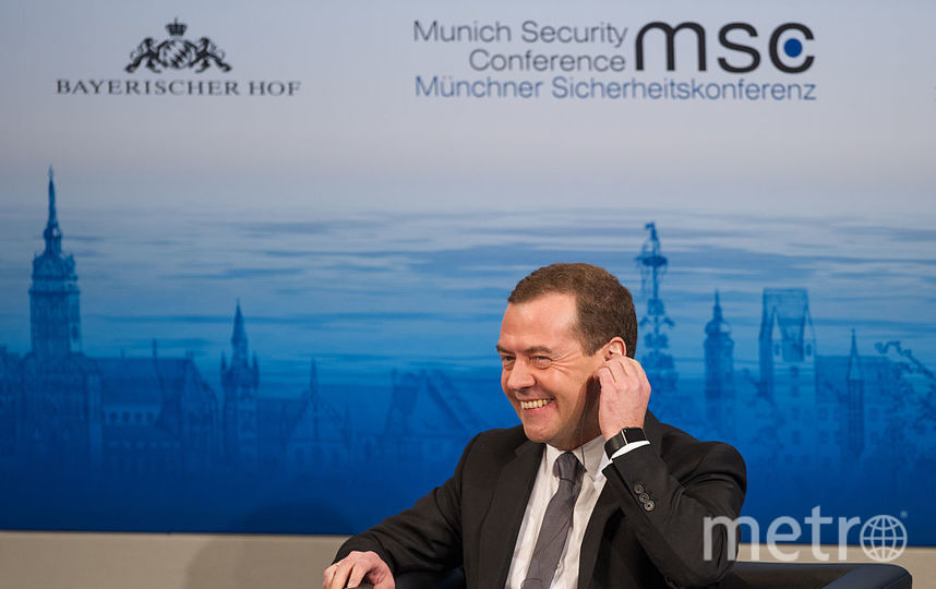 Дмитрий Медведев премьер-министр России