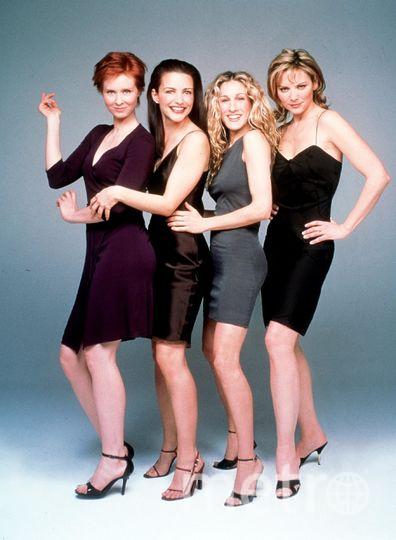 Сара Джессика Паркер, Ким Кэттролл, Синтия Никсон и Кристин Дэвис. Фото Getty