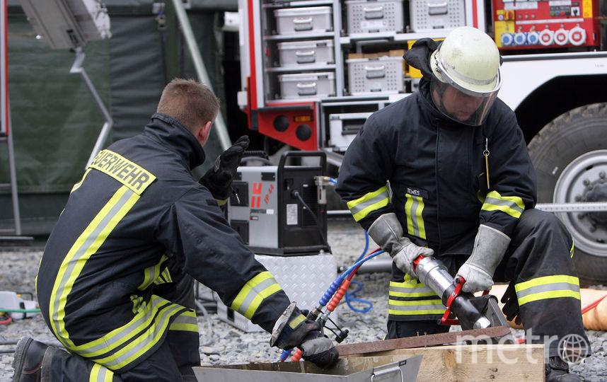 Немецкие пожарные. Фото Getty