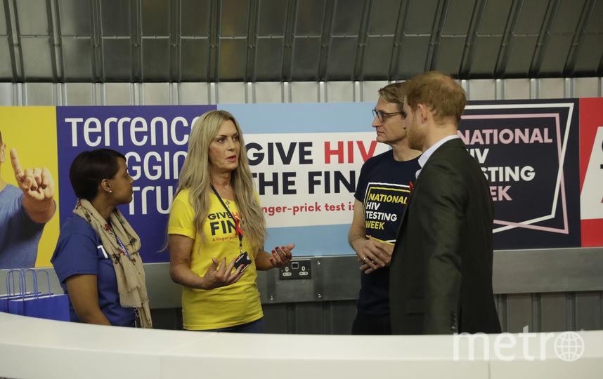 Принц Гарри представил тесты для выявления ВИЧ. Фото Getty