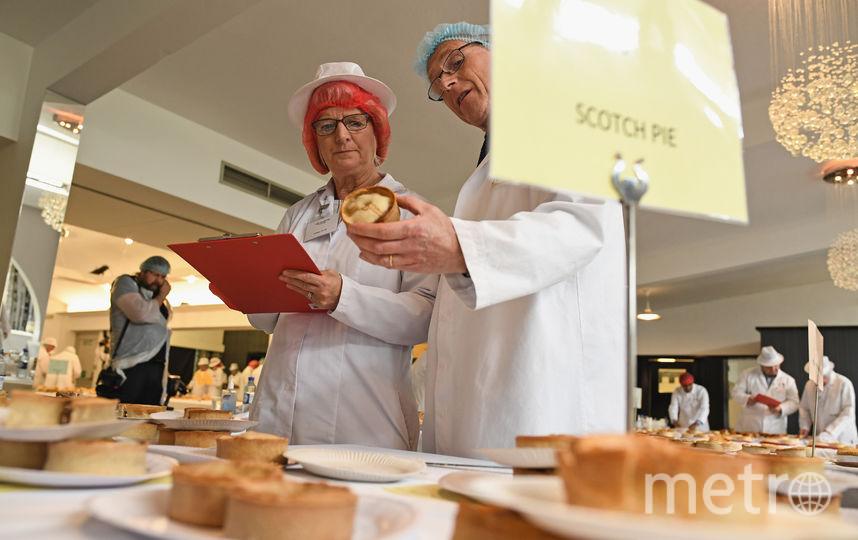 "В Шотландии прошла ""битва пирогов"". Фото Getty"