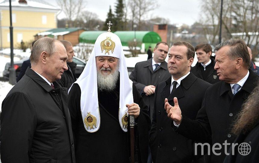 Поездка в Воскресенский Ново-Иерусалимский монастырь. Фото kremlin.ru