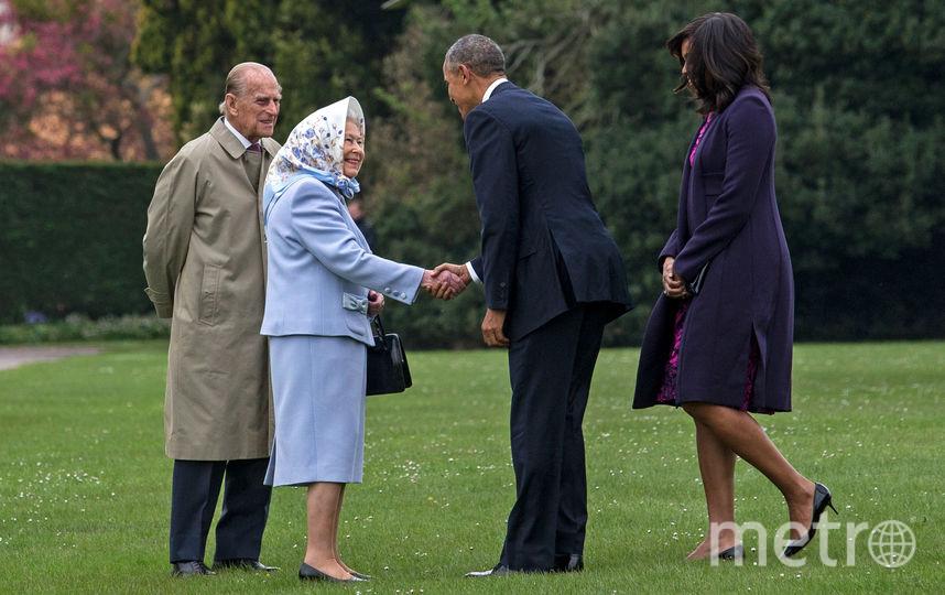 Принц Филипп, королева Елизавета II, Барак и Мишель Обама. Фото Getty