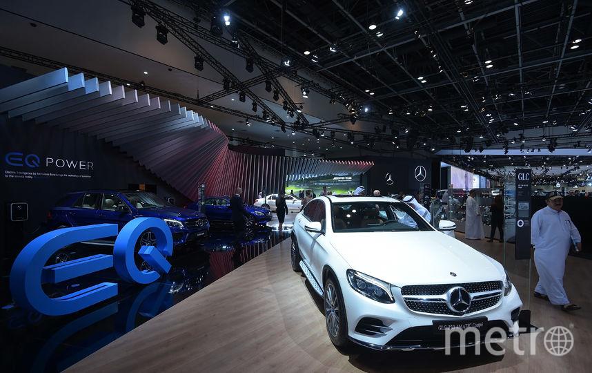 Dubai Motorshow-2017. Mercedes GLC. Фото Getty