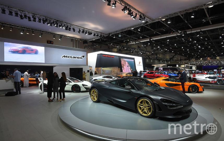 Dubai Motorshow-2017. McLaren 760S. Фото Getty