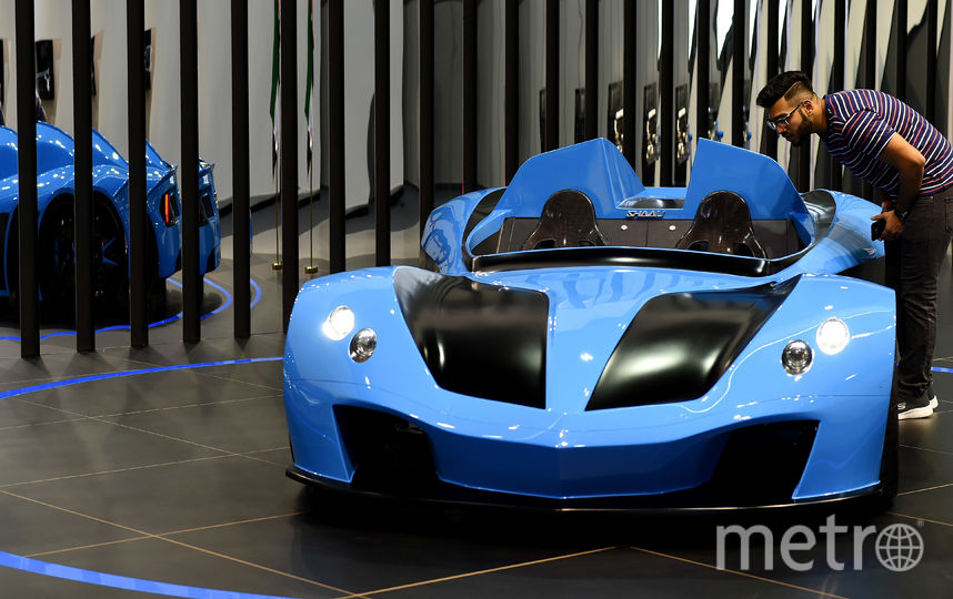 Dubai Motorshow-2017. SHAALI N360. Фото Getty