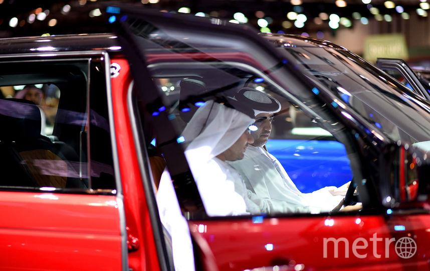 Dubai Motorshow-2017. Фото Getty
