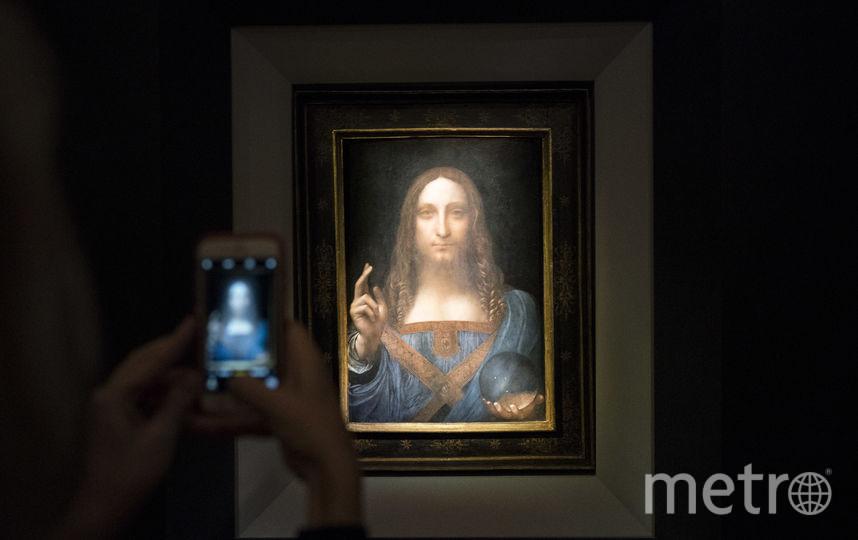 """""""Спаситель мира"""" Леонардо да Винчи продан на аукционе за рекордные 450 млн долларов. Фото AFP"""