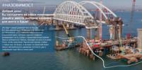 Любой может выбрать название моста в Крым