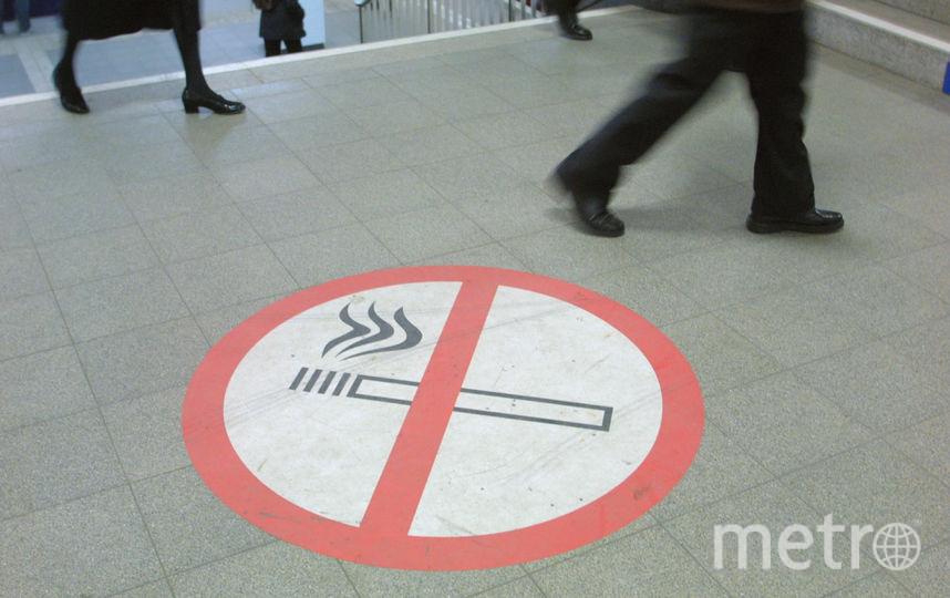 Знак, запрещающий курение. Фото Getty