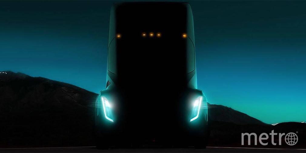 Электрический грузовик. Фото Tesla Motors.