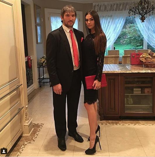 Анастасия и Александр Овечкины. Фото www.instagram.com/nastyashubskaya